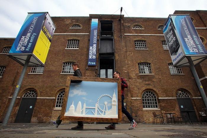 Создание панорамы приурочено к 10-летию музея London Docklands