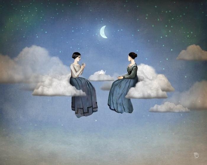 Сюрреалистические картины от Christian Schloe