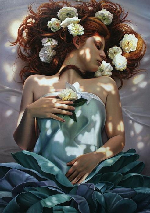 Фотореалистические картины маслом от Кристиан Влегелс