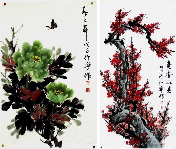 Китайские акварели от Chuan-Hong Li