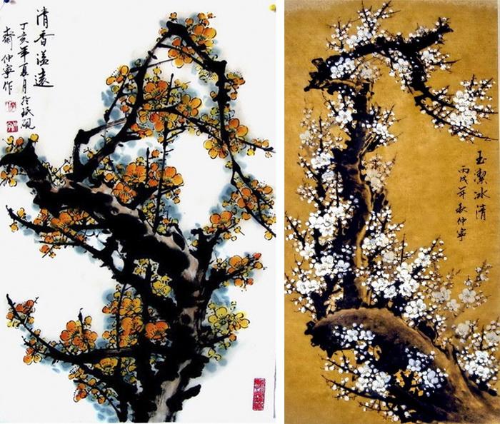 Акварельная живопись от Chuan-Hong Li