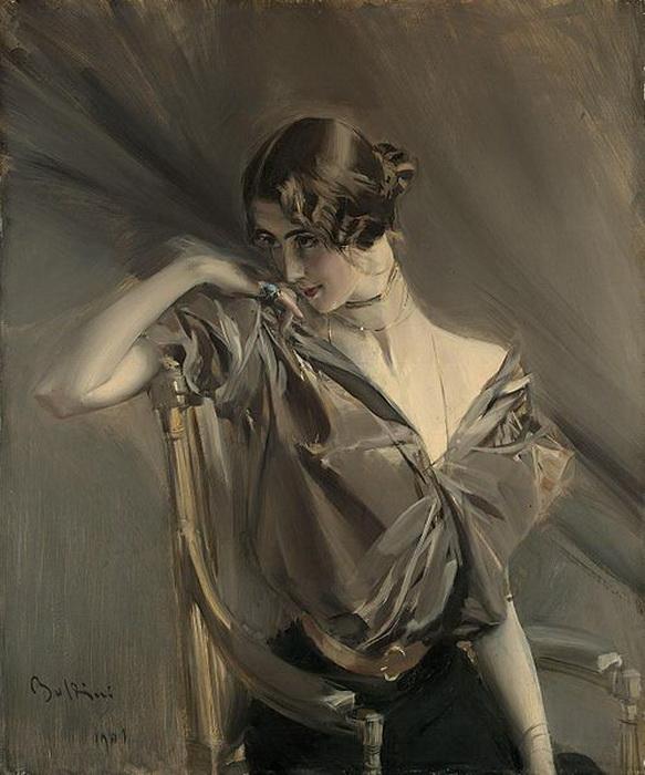 Джованни Болдини. Портрет Клео де Мерод, 1901 г.