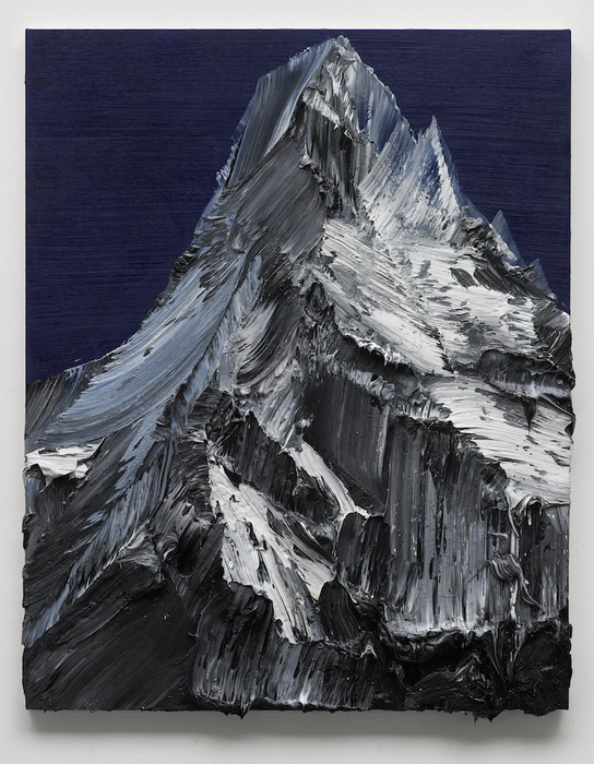 Горные вершины на картинах Конрада Годли (Conrad Godly)