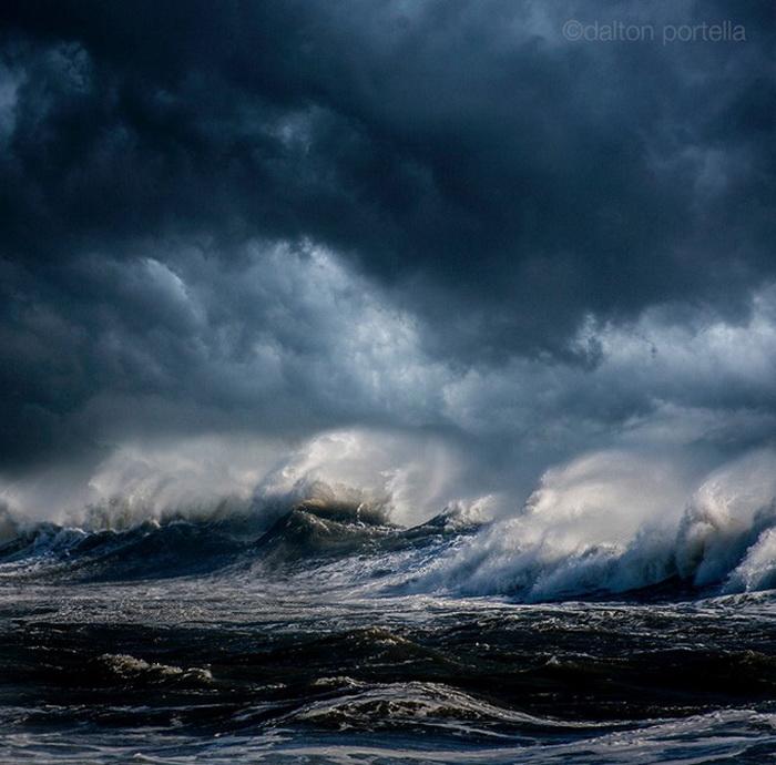 Фотографии бушующего океана от Далтона Портелла (Dalton Portella)