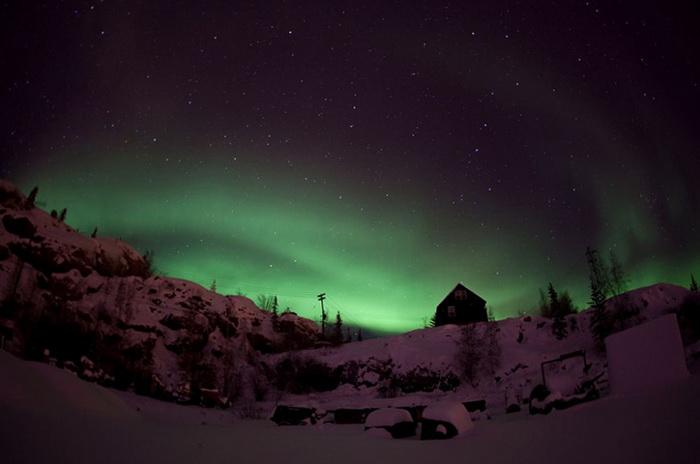 Северное сияние. Фотография от Дэйва Броши (Dave Brosha)