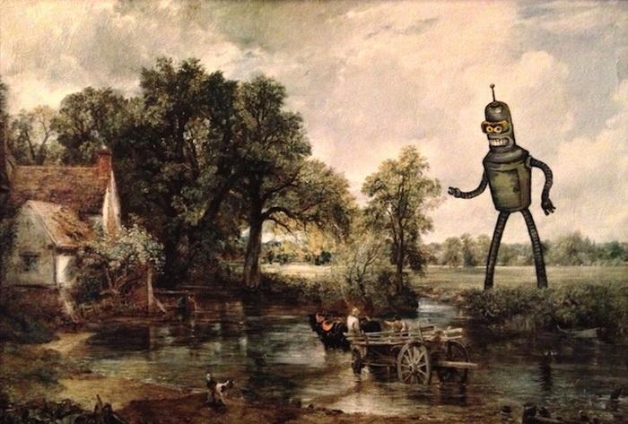 Вторая жизнь старых картин: творчество Дэйва Поллота (Dave Pollot)