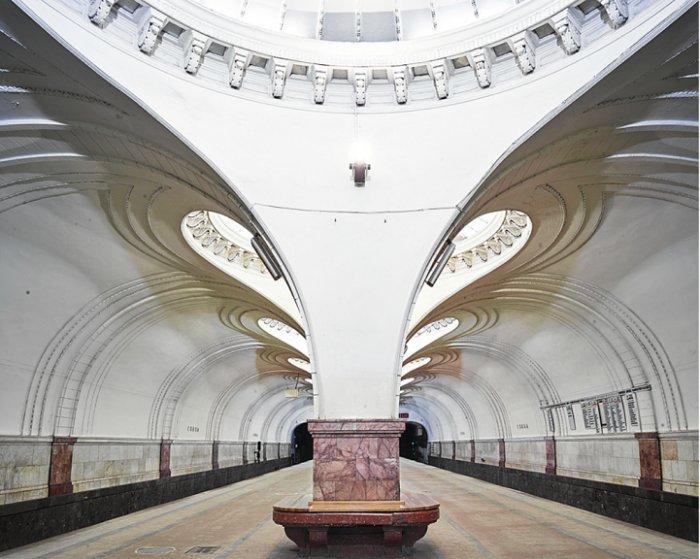 Станция метро Сокол, Москва
