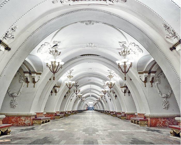 Станция метро Арбатская, Москва