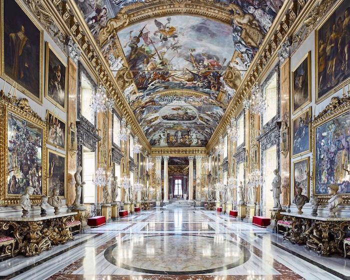Палаццо Колонна, Рим, Италия, 2016. Фотоцикл от Давида Бардни (David Burdeny)