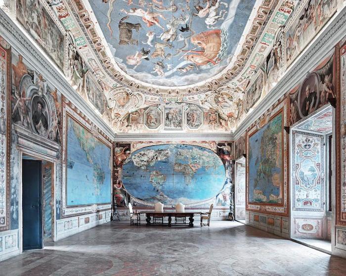 Замок Капрарола, Италия, 2016. Фотоцикл от Давида Бардни (David Burdeny)