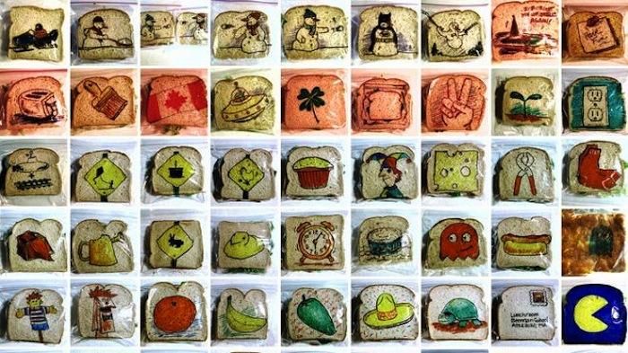 Креативные бутербродные упаковки от David LaFerriere