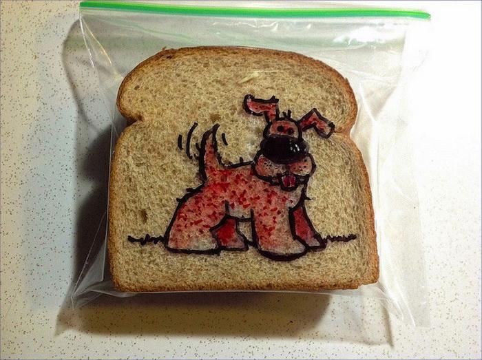 David LaFerriere оформил уже более тысячи бутербродов