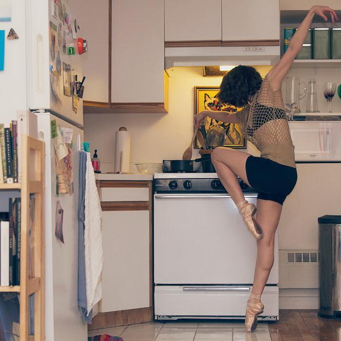 Танцы и кулинария совместимы!