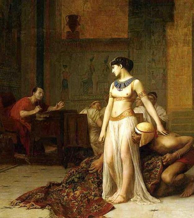 Клеопатра и Цезарь. Жан-Леон Жером, 1866 год