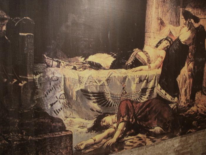 Смерть Клеопатры. Галерея Музея Прадо