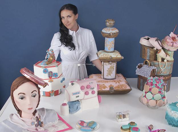 Дебби Уингхам и ее торты для детей.