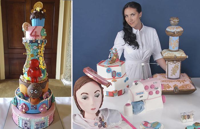Дебби Уингхам - дизайнер-кондитер, который делает самые дорогие торты в мире.