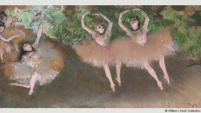 Сцена балета. Эдгар Дега. 1879