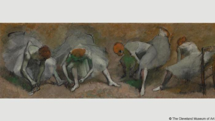 Frieze of Dancers. Эдгар Дега. 1895
