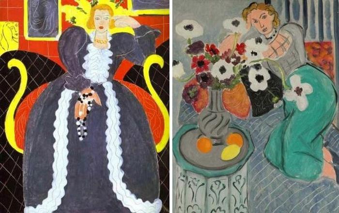 Картины Анри Матисса, вдохновленные образом Лидии Делекторской