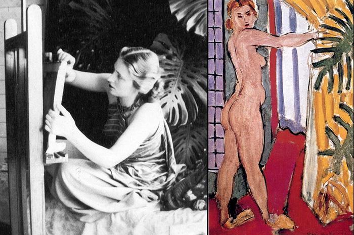Лидия Делекторская - муза Анри Матисса