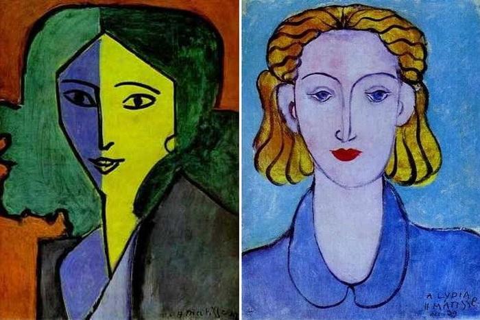 Анри Матисс был очарован миндалевидным разрезом глаз своей музы