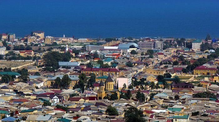 Панорамный вид на город.