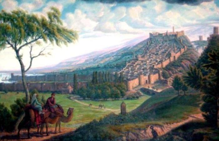 Дербент - старейший город в России.