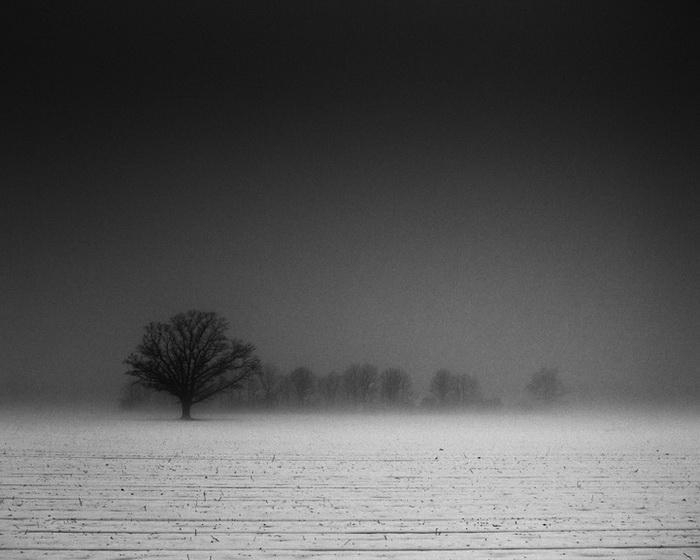 Черно-белые пейзажи от Дерека Тойе (Derek Toye)