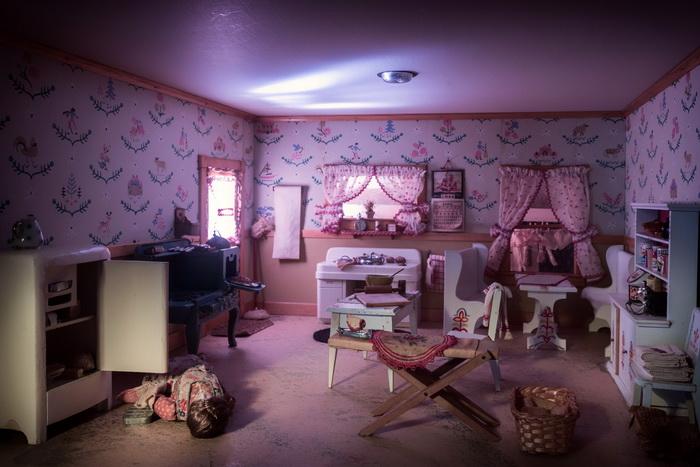 Кукольные домики в точности иллюстрируют реальную картину убийства.