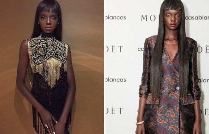 Duckie Thot - темнокожая модель, которая выглядит, как Барби.