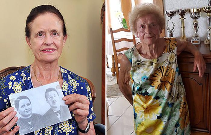 Портреты Марселины и Моники Дюмолин, дочерей, потерявших родителей в детстве.