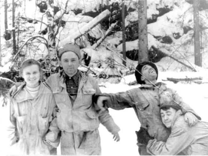 Участники тургруппы Дятлова
