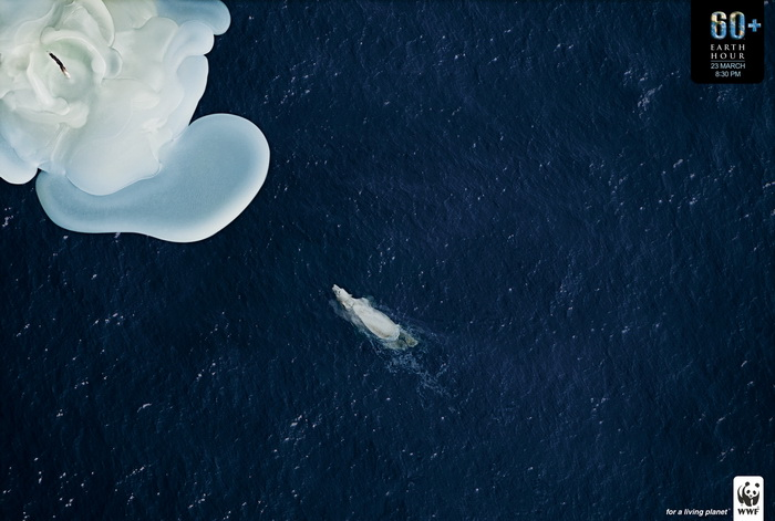 Экологическая реклама WWF. Час Земли