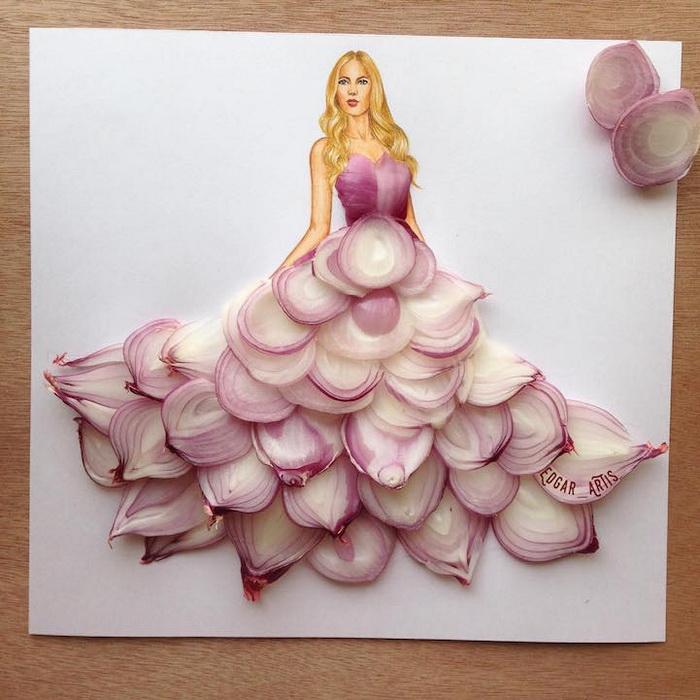Пышная юбка из лука