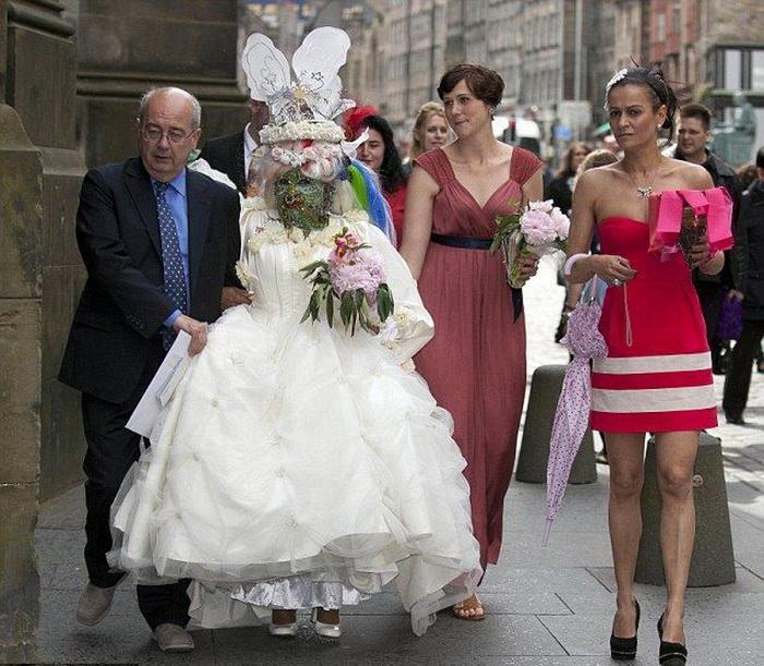 Свадебное фото Илэйн Дэвидсон