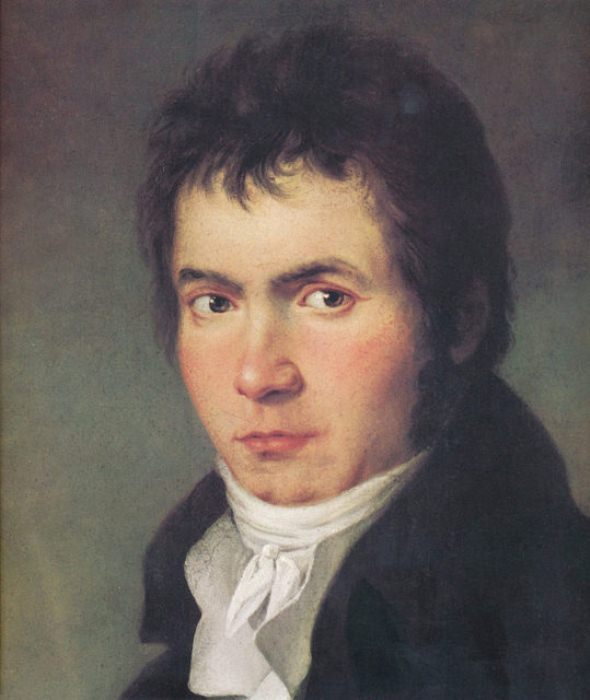 Людвиг ван Бетховен - выдающийся немецкий композитор и пианист.