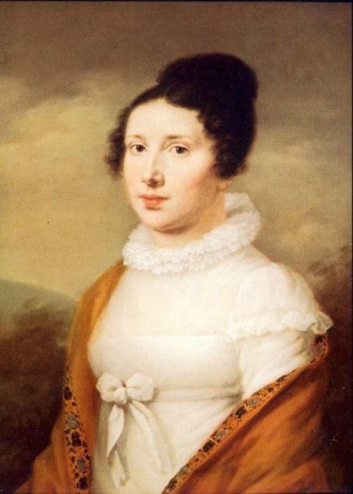 Портрет Элизабет Рёкель, еще одного возможного, но менее вероятного адресата.