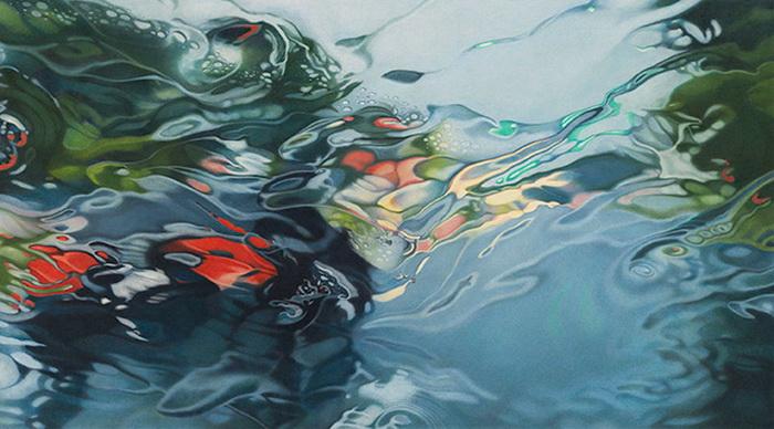 Дождливые пейзажи. Серия гиперреалистических картин Элизабет Паттерсон