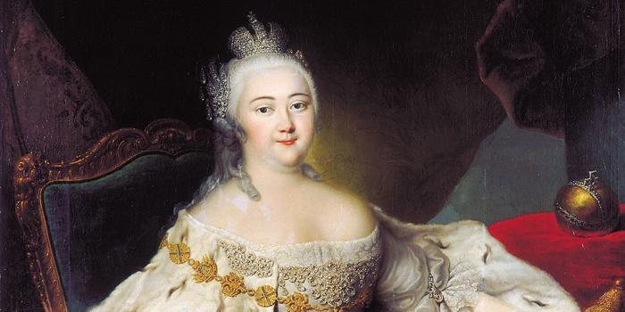 Елизавета Петровна - младшая дочь Петра I.