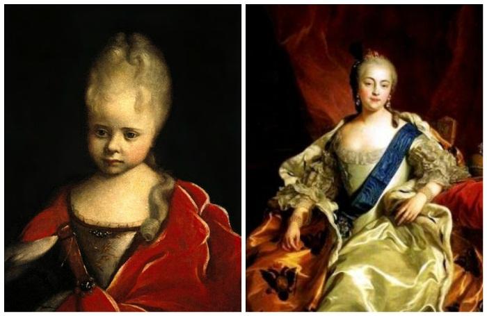 Елизавета Петровна: детство и зрелость.