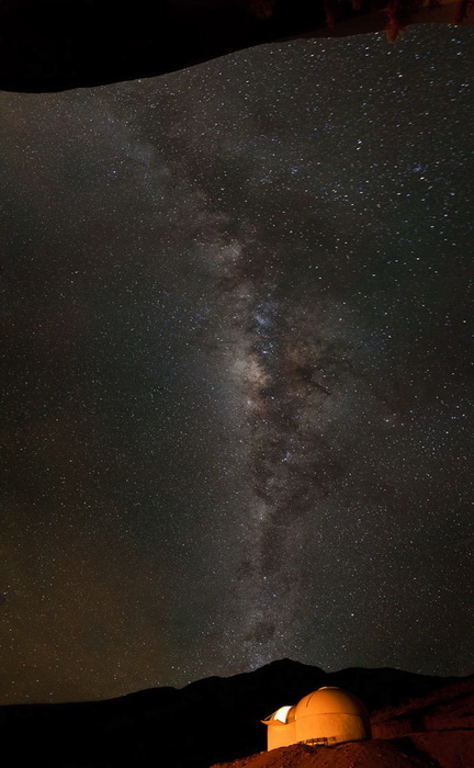 В долине Эльки бывает 300 звездных ночей в год