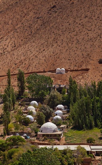 Отель Эльки Домос (Elqui Domos) в Чили