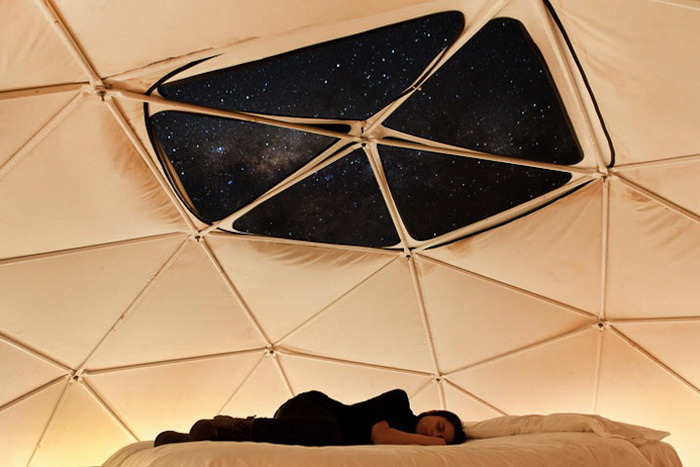 Отель Эльки Домос (Elqui Domos), где можно любоваться звездным небом