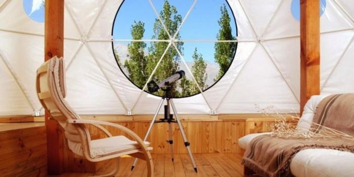 Обсерватория в отеле Эльки Домос (Elqui Domos)