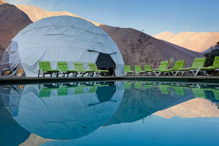 Комфортабельный отель в долине Эльки (Чили)