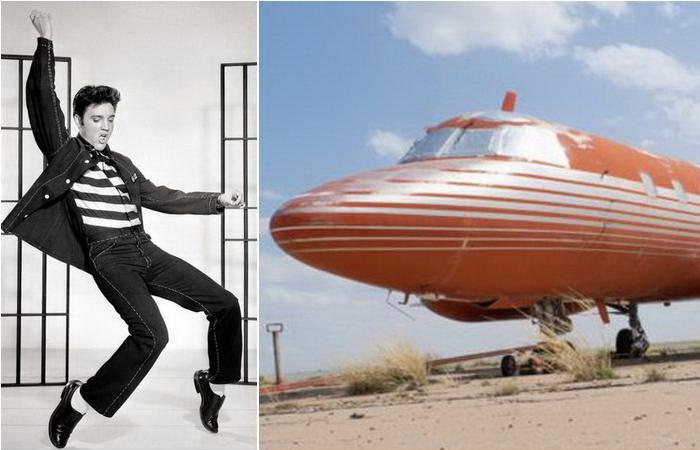 Самолет Элвиса Пресли выставили на аукцион.