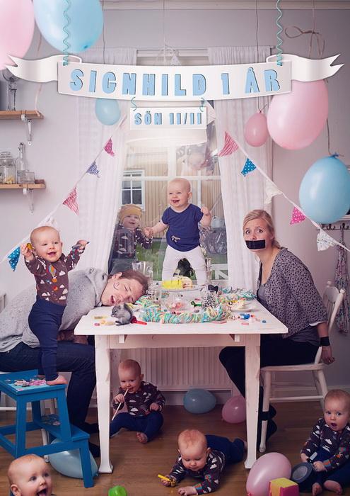 Серия детских фотографий от Emil Nystrom