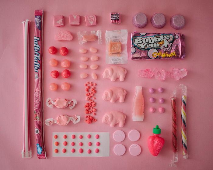 Фотографии сладостей всех цветов радуги от Emily Blincoe