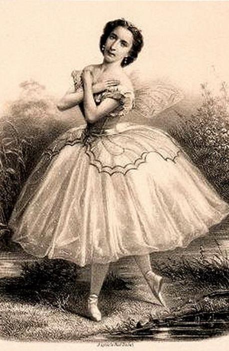 Эмма Ливри - последняя представительница французского романтического балета